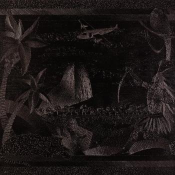 DISSERAM QUE EU VOLTEI AMERICANIZADA, 1,00 m X 1,00 m, Acrílica e acrílica em baixo relevo s/ tela, 2012